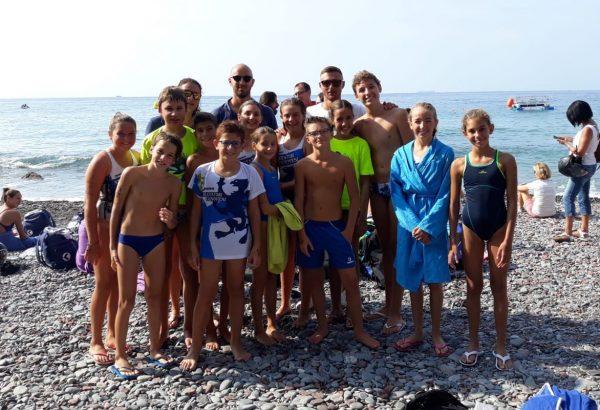 La squadra degli Esordienti A al Campionato Regionale Open di Mezzofondo