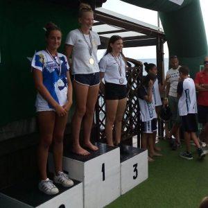 Marta Tassara e Valentina Norero sul podio nella categoria Juniores