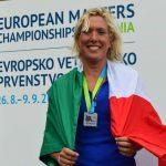 Gaia Naldini medaglia d'argento agli European Masters Championships 2018