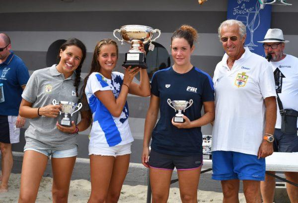 Il podio femminile della Coppa Sachner 2018