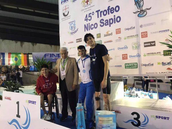 100 stile libero FINP al 45° Trofeo Nico Sapio