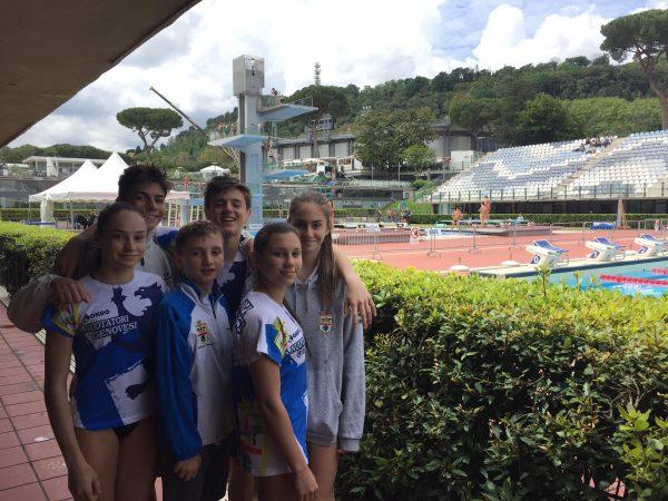 I nostri atleti allo Stadio del Nuoto di Roma