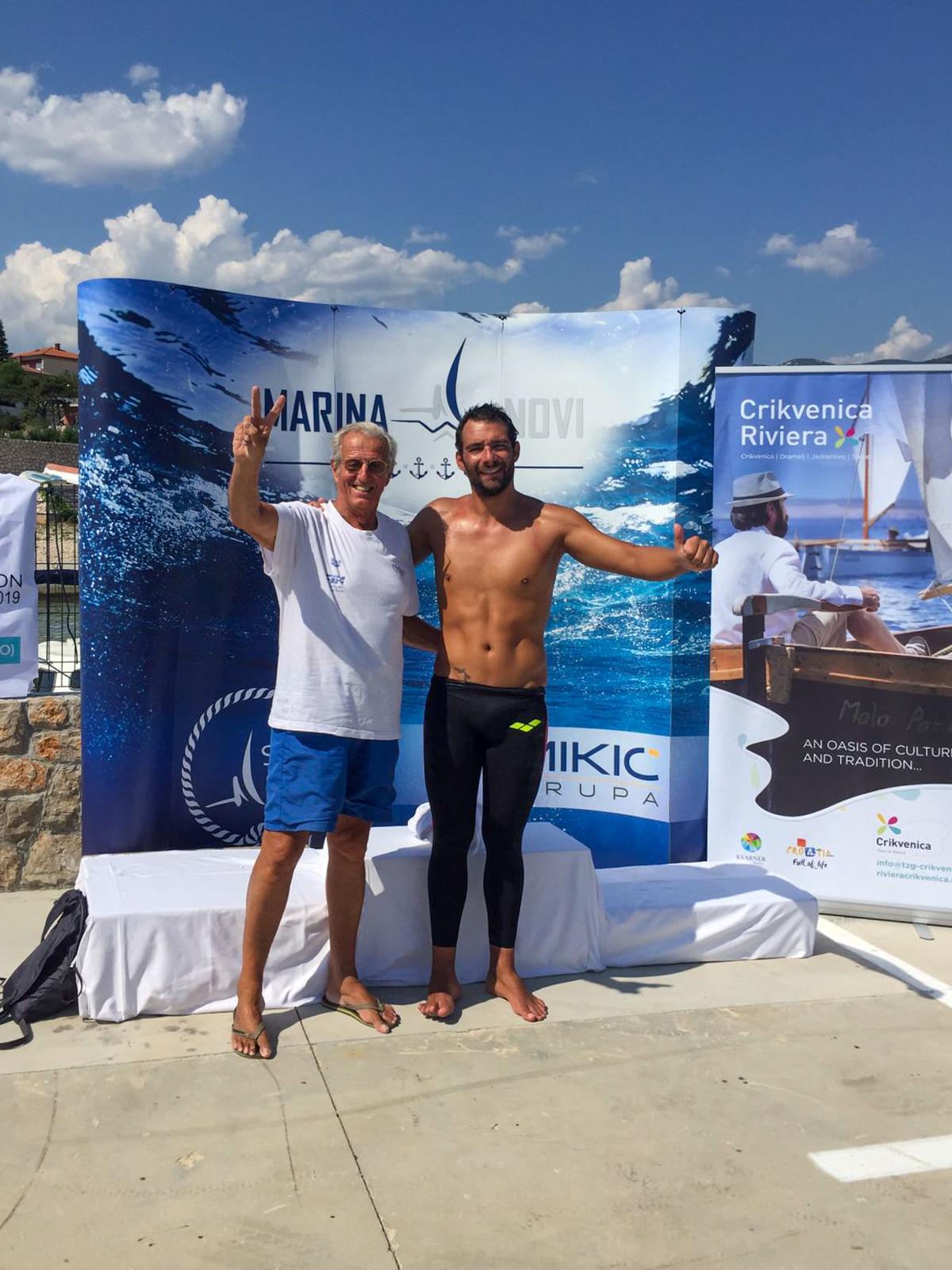 Filippo Tassara ed Edoardo Stochino a Novi Vinodolski (Croazia)